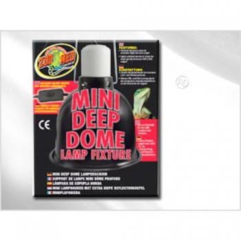 Zoomed Mini Deep Dome Lampenfassung max 100Watt