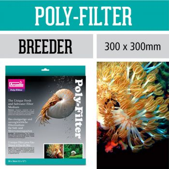 Arcadia Poly-Filter einzigartiges Vlies Filtermedium Breeder 30 x 30 cm