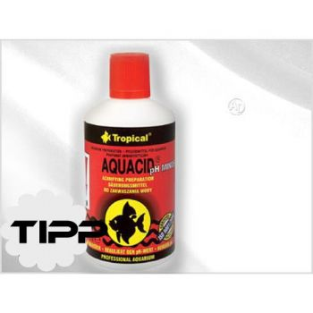 Tropical AQUACID ph Minus 500 ml pH Wert Senker für Aquariumwasser