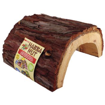 Zoomed Habba Hut (natural wood product) GIANT