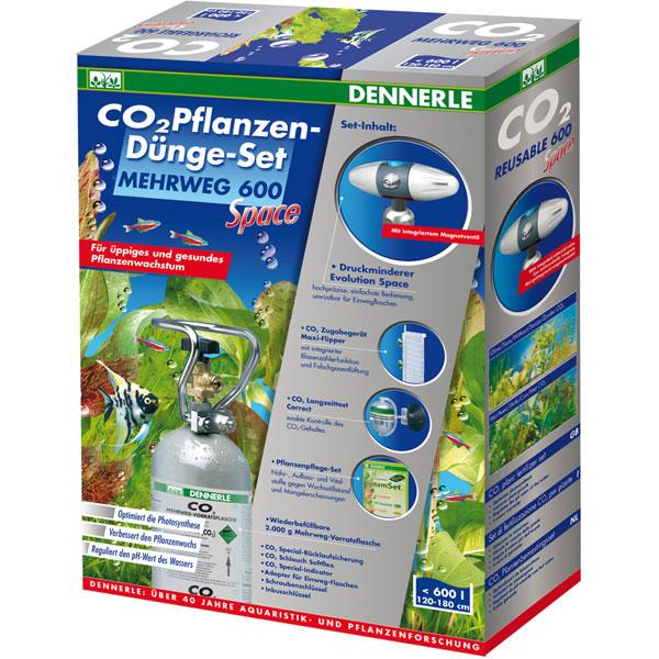 Dennerle CO2 Pflanzen-Duenge Set Mehrweg 600 Space ...