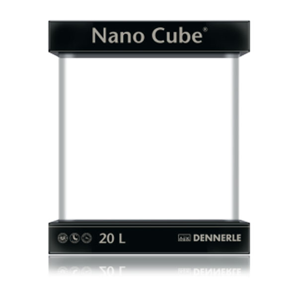dennerle nano cube 20 liter g nstig kaufen bei aqua. Black Bedroom Furniture Sets. Home Design Ideas