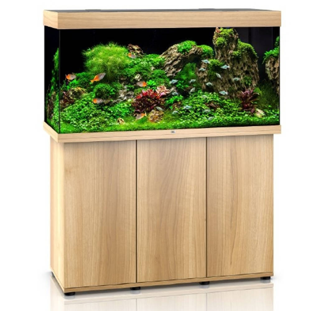 juwel aquarien kombination rio 350 led helles holz g nstig kaufen bei aqua. Black Bedroom Furniture Sets. Home Design Ideas
