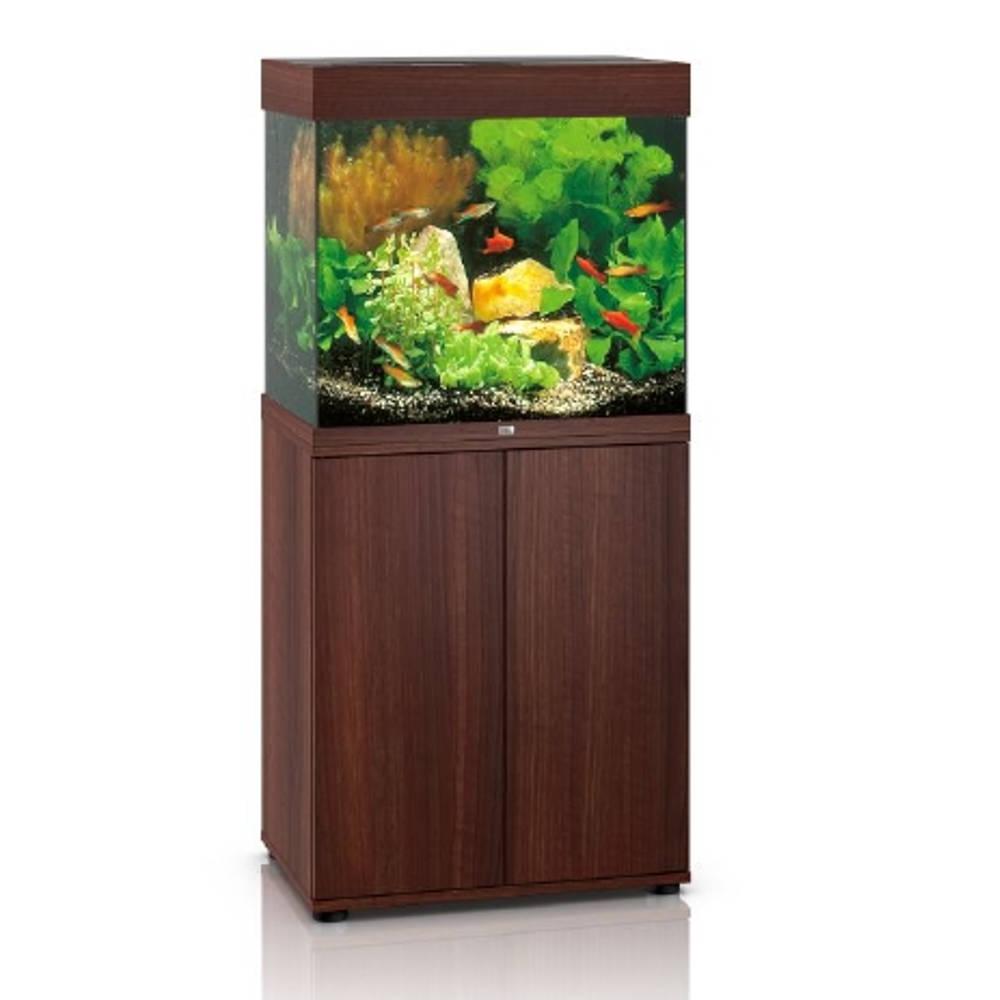 juwel aquarienkombination lido 120 led dunkles holz g nstig kaufen bei aqua. Black Bedroom Furniture Sets. Home Design Ideas