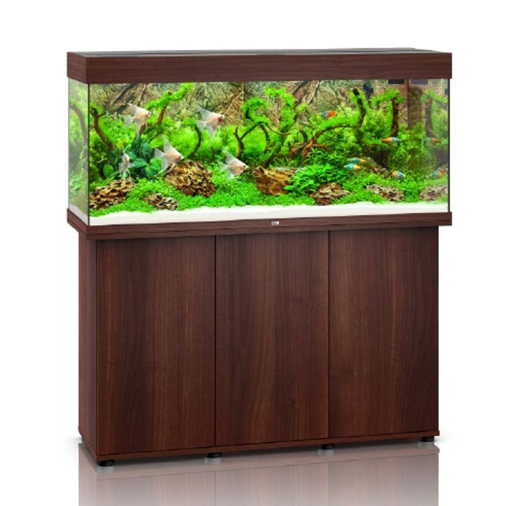 juwel aquarienkombination rio 240 led dunkles holz g nstig kaufen bei aqua. Black Bedroom Furniture Sets. Home Design Ideas