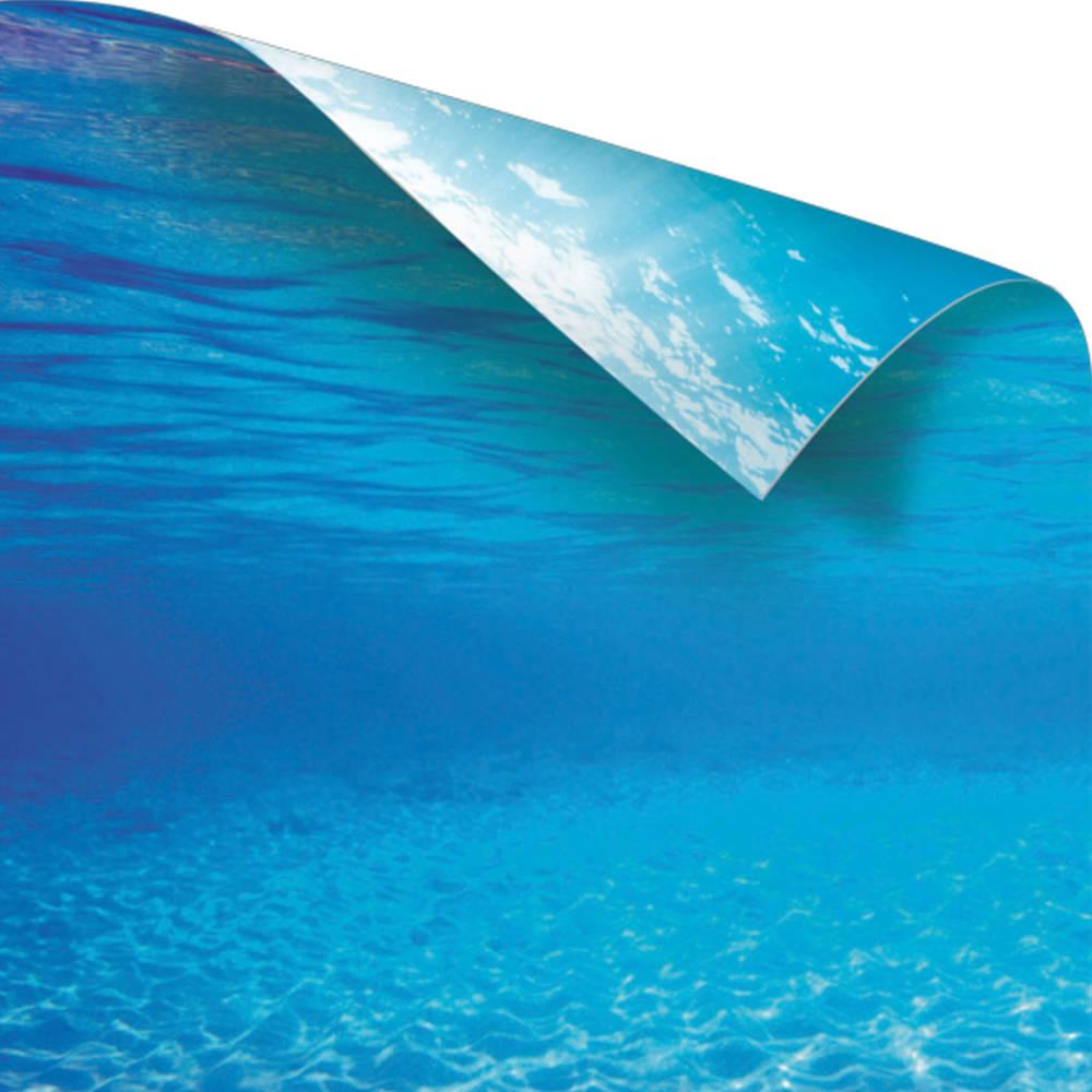juwel fotorueckwand wasser blau 150x60cm fuer aquarium poster 2 xl g nstig kaufen bei aqua. Black Bedroom Furniture Sets. Home Design Ideas