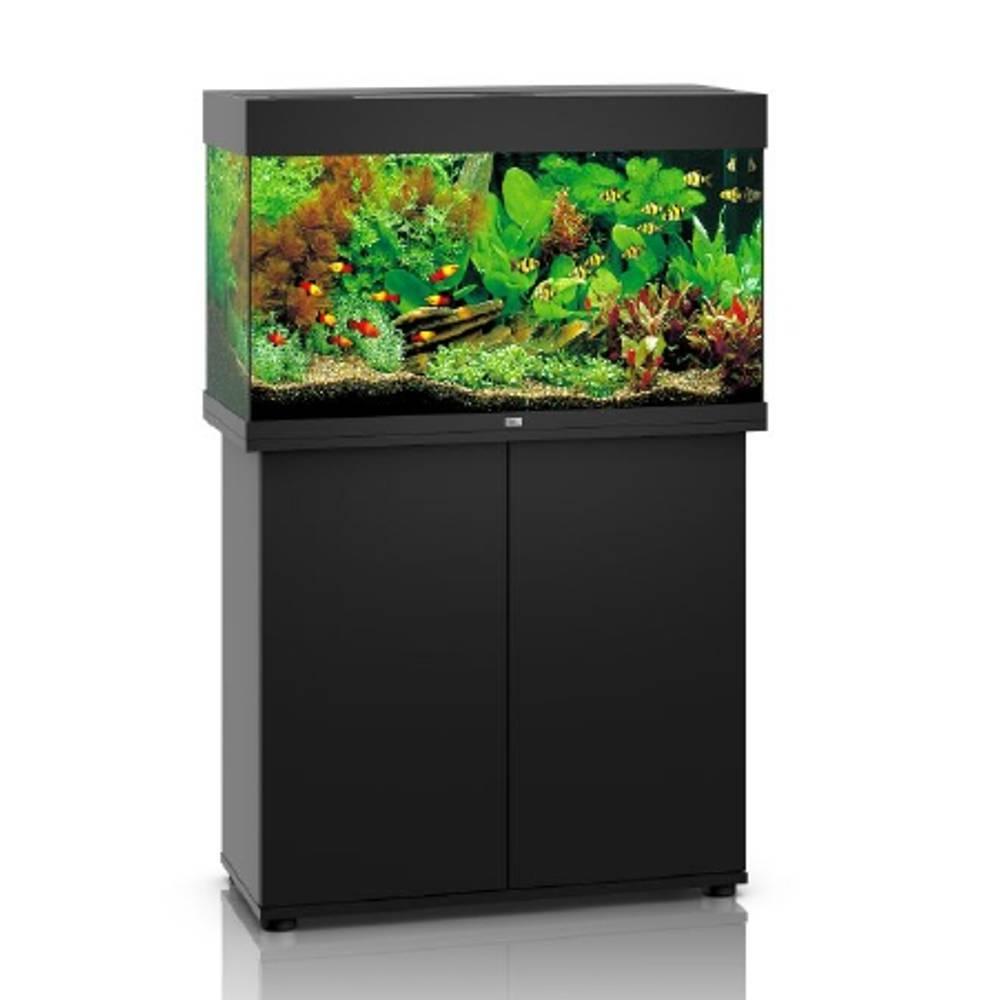 juwel komplett set rio 125 led schwarz 2 x 14 w 590 mm g nstig kaufen bei aqua. Black Bedroom Furniture Sets. Home Design Ideas