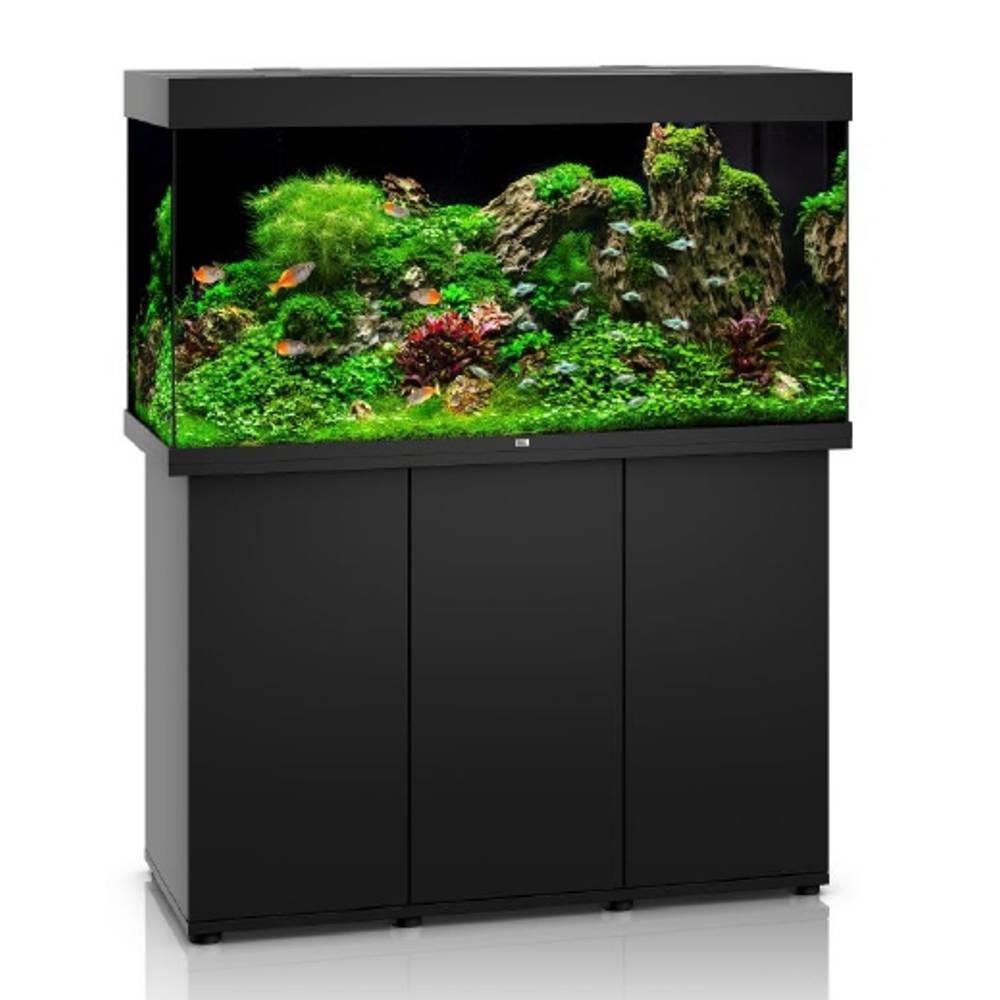 juwel komplett set rio 350 led schwarz g nstig kaufen bei aqua. Black Bedroom Furniture Sets. Home Design Ideas
