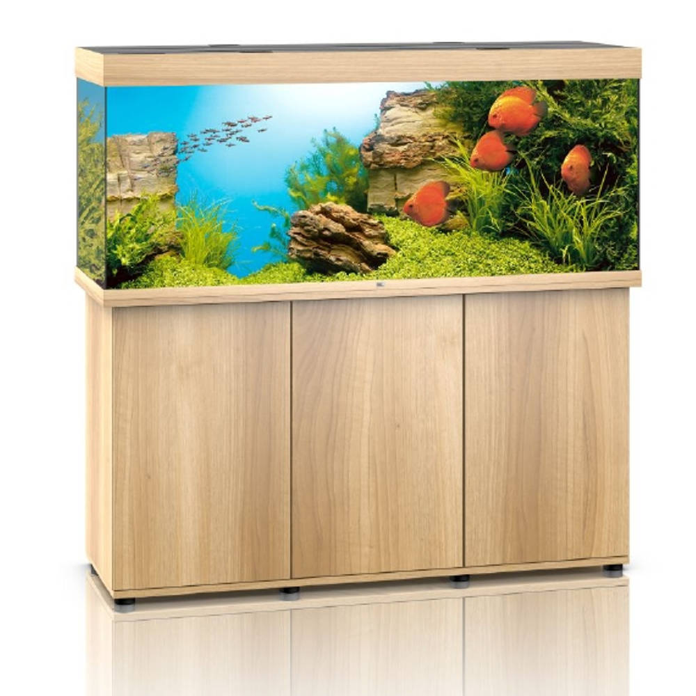 juwel komplett set rio 450 led helles holz g nstig kaufen bei aqua. Black Bedroom Furniture Sets. Home Design Ideas