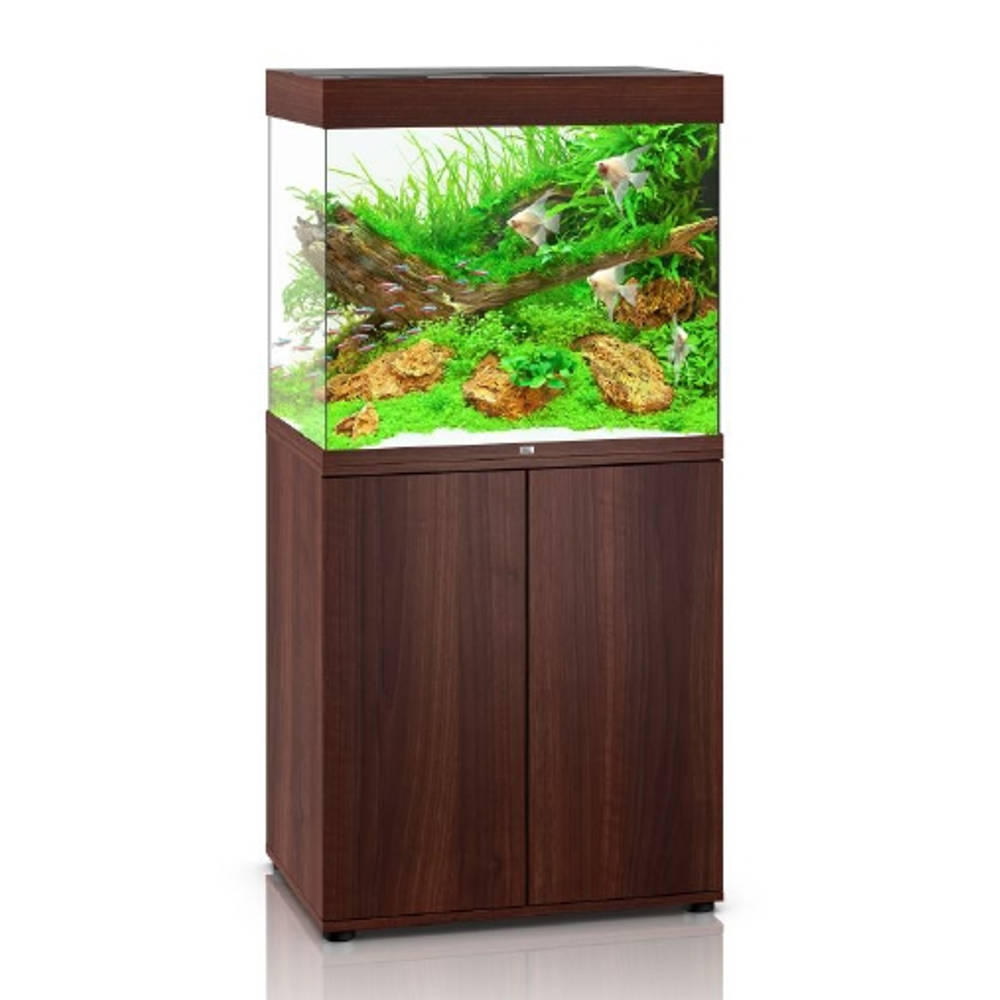 juwel lido 200 led dunkles holz aquarium kombination g nstig kaufen bei aqua. Black Bedroom Furniture Sets. Home Design Ideas