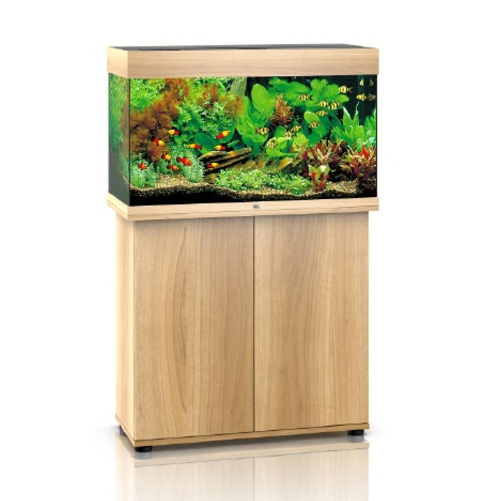 juwel rio 125 led helles holz aquarium kombination g nstig kaufen bei aqua. Black Bedroom Furniture Sets. Home Design Ideas