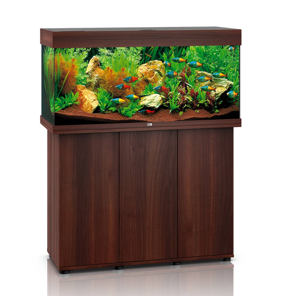 juwel rio 180 led dunkles holz aquarium kombination g nstig kaufen bei aqua. Black Bedroom Furniture Sets. Home Design Ideas