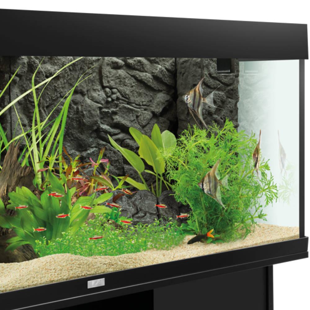 Juwel Terrasse Aquarium Deko Stone Granit Grau 35x15 Cm Gunstig