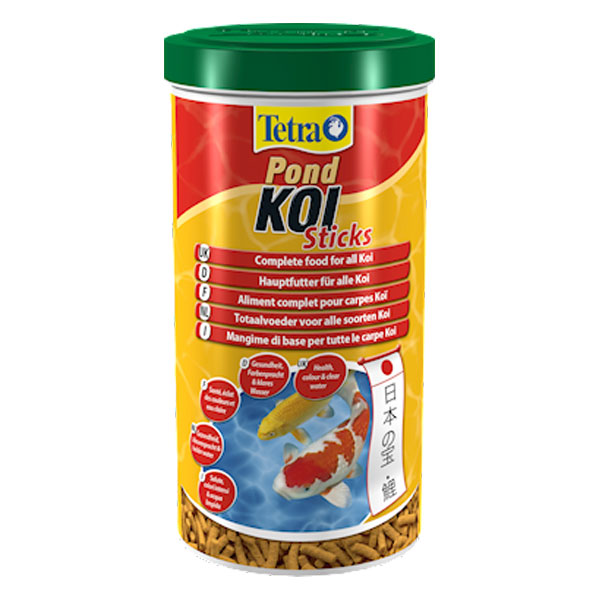 Tetra pond koi sticks 10 l g nstig kaufen bei aqua for Koi pond sticks