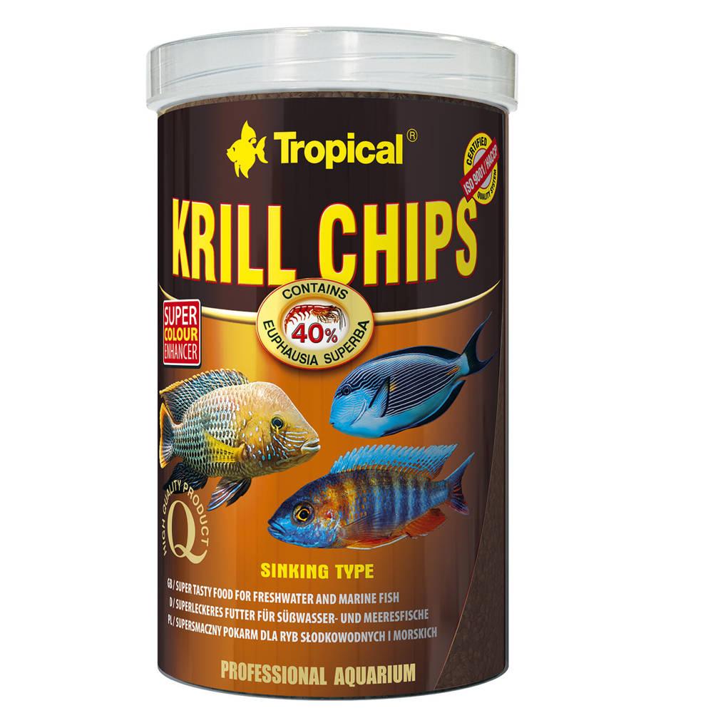 tropical krill chips futter farbverstaerkend 125g 250ml. Black Bedroom Furniture Sets. Home Design Ideas