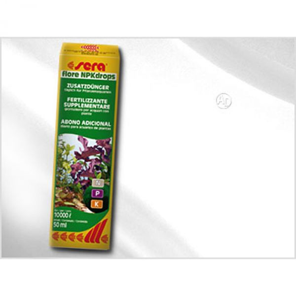 sera flora npk drops 50ml g nstig kaufen bei aqua. Black Bedroom Furniture Sets. Home Design Ideas