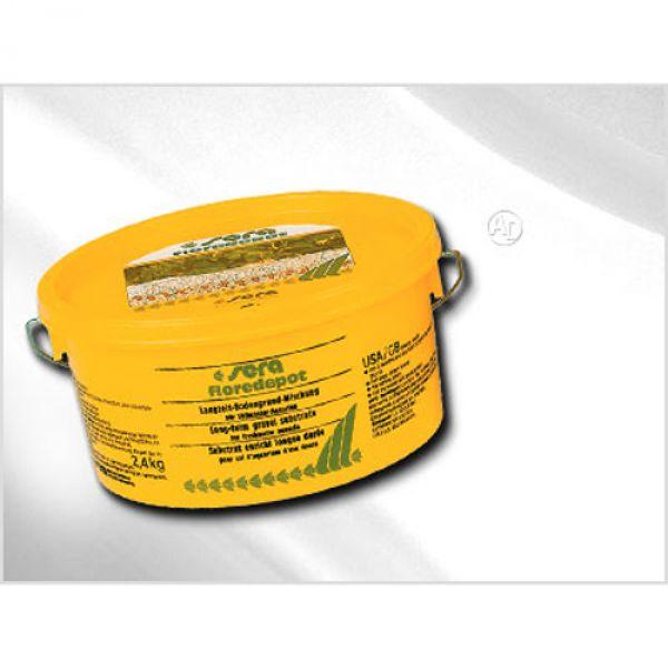 sera floredepot mit Aktiv Pellets 2,4 kg