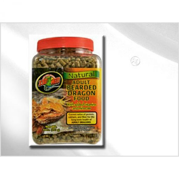 Zoomed Natural Bearded Dragon Food - Adult 283g bei Aqua Design