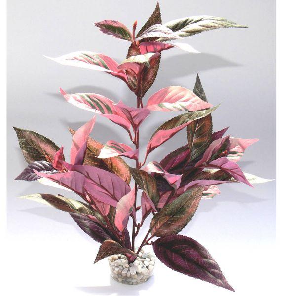 Aquarium Kunst Pflanze Burgundy Plant rosa 38 c...
