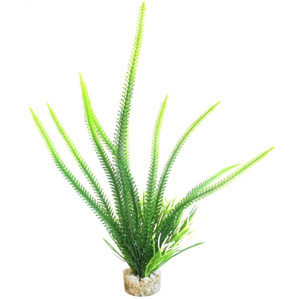 Aquarium Kunst Pflanze Aqua Grass 26 cm hoch