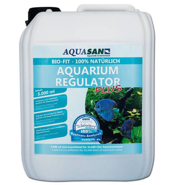 AQUASAN Bio-Fit Aquarium Regulator PLUS 5 Liter