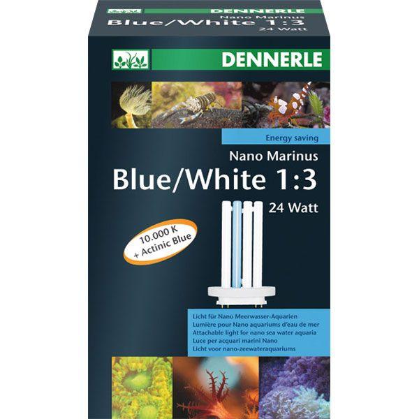 Dennerle NANO Marinus Blue/White 1:3 24 Watt - ...