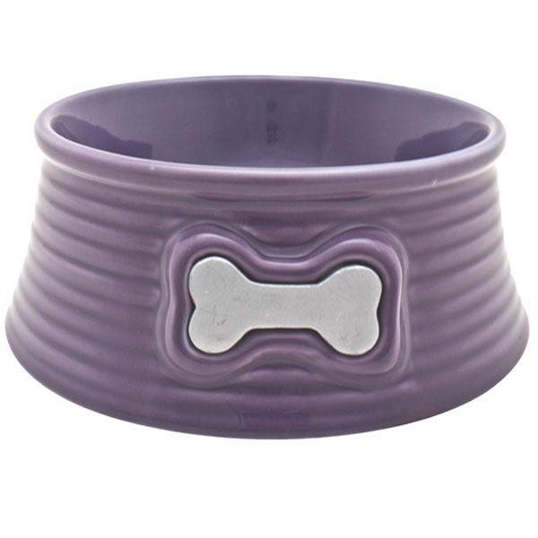 Dogit Keramik Hunde Futternapf violett 350 ml