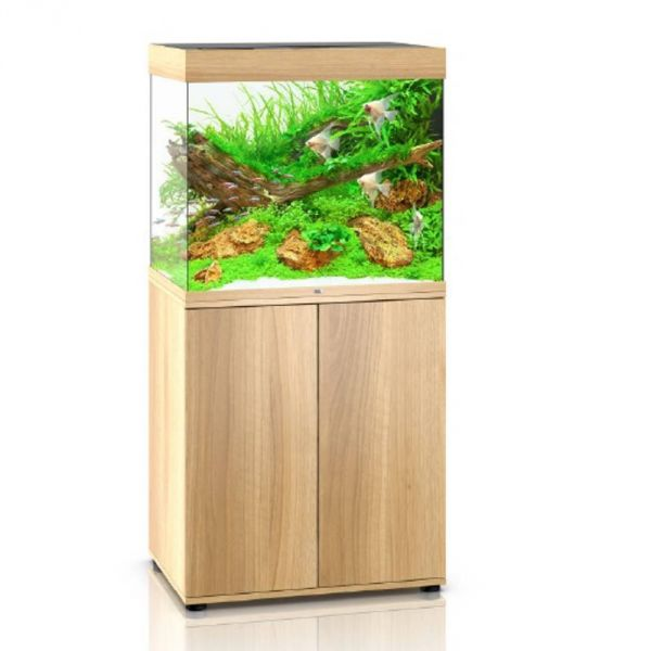 Juwel Lido 200 LED helles Holz Aquarium Kombination bei Aqua Design