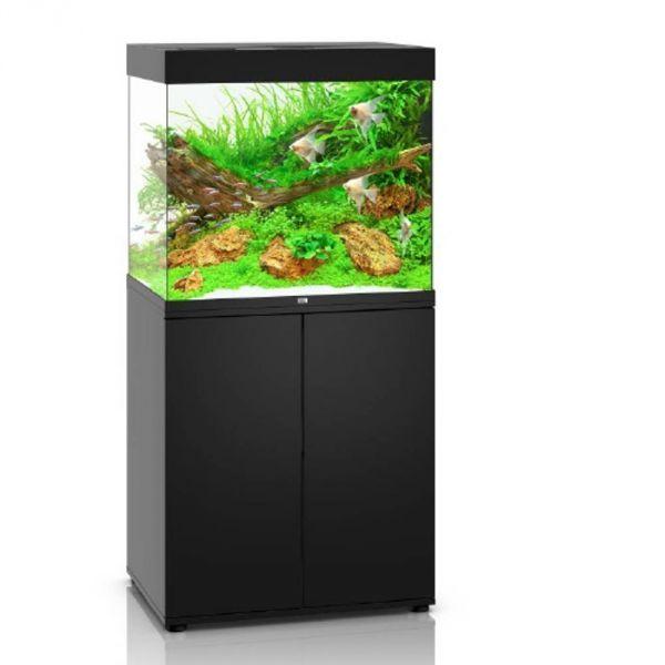 Juwel Lido 200 LED schwarz Aquarium Kombination