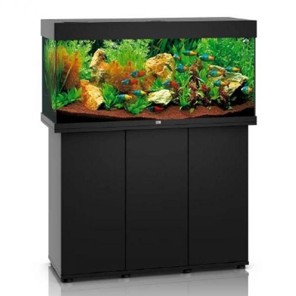 Juwel Rio 180 LED schwarz Aquarium Kombination