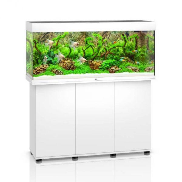 Juwel Rio 240 LED weiss Aquarium Kombination