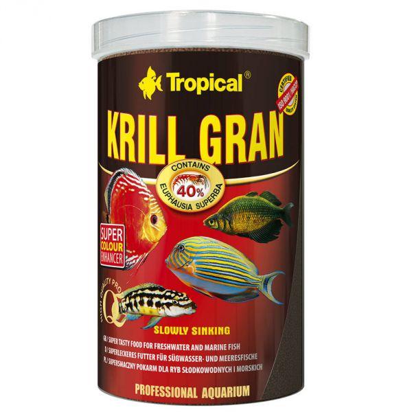 Tropical Krill GRAN 54g (100ml Dose) Granulat Futterfür Süß- und Meerwasser Fische