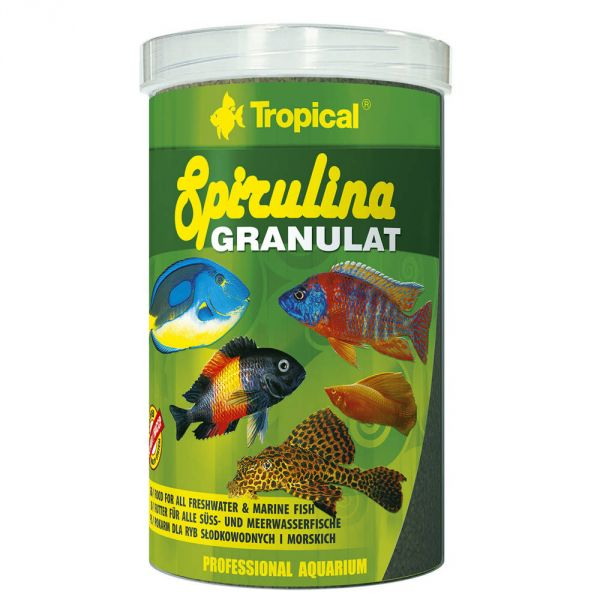 Tropical Spirulina Granulat 110g (250 ml Dose) ...