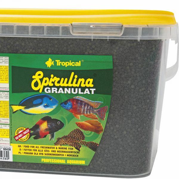 Tropical Spirulina Granulat 2,2 kg (5 Liter Eim...