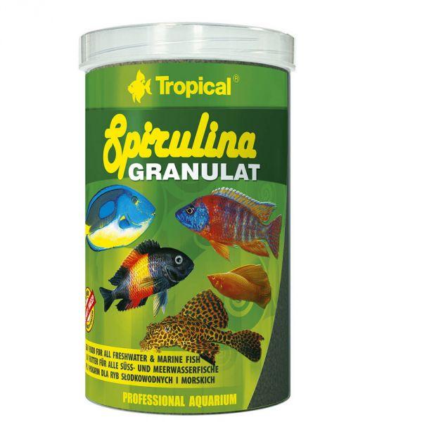 Tropical Spirulina Granulat 440g (1 Liter Dose)...
