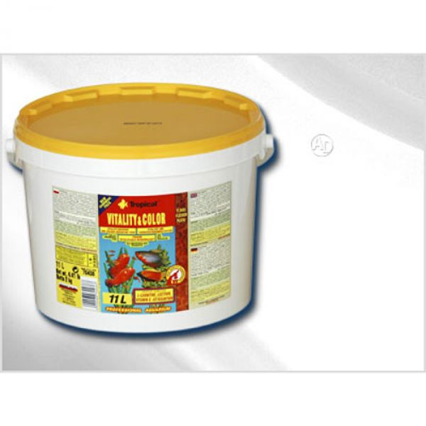 Tropical Vitaly und Color Flockenfutter 2,1Kg /...